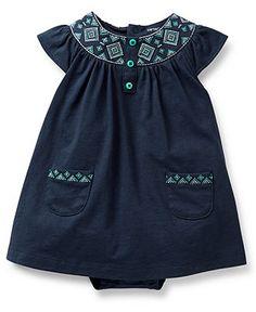 Carter's Baby Girls' 2-Piece Dress & Cardigan Set - Kids Newborn Shop - Macy's