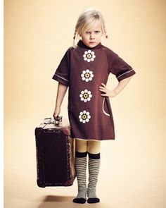 Alba baby - Brown dress, AW13