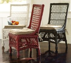 Which beats the price of the Delaney Rattan chairs at Pottery Barn, also on sale for $179.00, but for just one.
