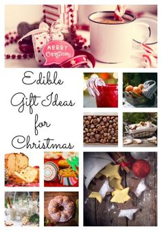 These edible gift ideas for Christmas are sure to be a hit this holiday season!  Get tons of ideas in one place with this fun guide!
