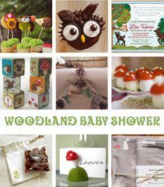 Woodland+Baby+Shower+Ideas | Quinte Family Resource Guide: Woodland Baby Shower