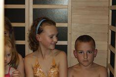 Dětské saunování v Sauna centru