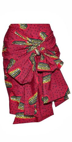 Designer Inspired Ankara Skirt. Ankara skirt made from print fabric with a high waist, pencil fit and front sash. It fastens with a zip at the back, is fully lined and is made from 100% African print cotton. Ankara | Dutch wax | Kente | Kitenge | Dashiki | African fashion | African prints | Nigerian style | Ghanaian fashion | Senegal fashion | Kenya fashion | Nigerian fashion |(affiliate)
