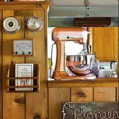 Copper Kitchen Aid!