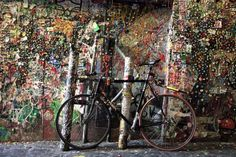 Bubblegum Alley - California, United States: Since the 1970s, individuals have stuck wads of bitten gum on this divider in San Luis Obispo, California. Seattle, Washington, additionally has a Gum Wall.