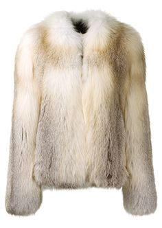 ad2121ce02 Christopher Kane Fur   shearling    Christopher Kane beige fox fur jacket