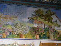 Typisch Valenciaans huisje met bloemen
