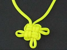 """Paracord Fusion Ties - Volume 1: http://www.amazon.com/Paracord-Fusion-Ties-Volume-Bundles/dp/098555780X A good friend of mine is fond of saying, """"It's called the Good Luck Knot because people need good luck to tie it"""". With all do respect, this couldn't be further from the truth. Elegantly designed, the knot slides together easily. Video by JD ..."""