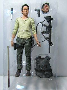 glenn rhee walking dead action figure  | McFarlane Toys AMC TV Series 5 The Walking Dead Glenn Rhee Action ...