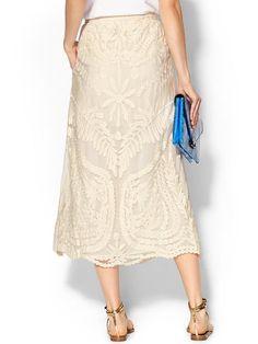 Eva Lace Maxi Skirt Product Image