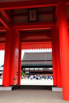 Kyoto Imperial Palace, Japan 京都御所 紫宸殿