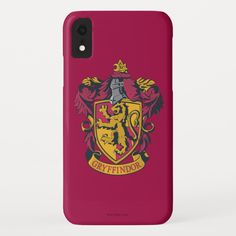 Harry Potter Gryffindor Crest Gold and Red Case-Mate iPhone Case , Harry Potter Hermione, Coque Harry Potter, Harry Potter Iphone Case, Harry Potter Spells, Harry Potter Gifts, Harry Potter Accesorios, Ipad Mini Cases, Iphone Accessories, Iphone Cases