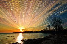 O céu em time-lapse
