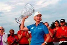 Winning for the first time in two years on the LPGA Tour didn't cause Karrie Webb's eyes to well. The 38-year-old Hall of Famer cried thinking of her seriously ill 87-year-old grandmother after winning the ShopRite LPGA Classic on Sunday.
