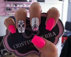 Erika, Enamel, Accessories, Nail Art, Nails, Fingernail Designs, Gatos, Vitreous Enamel, Enamels