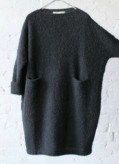 Inspiration: Oversize Pullover stricken Inspiration: Oversize Pullover stricken Knitting , lace processing is the most beautiful hobbies that girls can't give u. Mohair Cardigan, Oversize Pullover, Grey Turtleneck, Oversized Dress, Belted Shirt Dress, Knit Dress, Gray Dress, Dress Black, Hijab Fashion