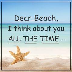 Does anyone else have beach on the brain ? I do! #BeachTravel