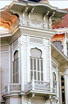 Tarihi Türk ev ve Yalıları İstanbul
