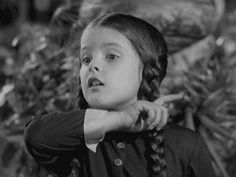 """Wednesday Addams says: """"If you are not visiting the MUNSTERS vs ADDAMS online SHOW, at Susanita's Little Gallery by October the 8th…"""""""