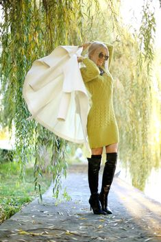Gold Rush, Over The Knee Boots, Mini Skirts, Sweaters, Outfits, Dresses, Fashion, Outfit, Gowns