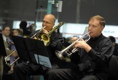Joseph Alessi and Phil Smith - Holiday Performance Of The New York Philharmonic Principal Brass Quintet