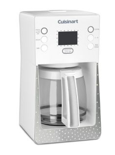 Cuisinart Crystal Limited Edition Perfec Temp Programmable Coffeemaker made with Swarovski Elements, White Amazon Coffee, Stainless Steel Plate, D 20, Car Cleaning, Boutique, Hot Coffee, Drip Coffee Maker, Kitchen Gadgets