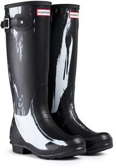 66c1a51914f Womens Hunter Original Nightfall Festival Wellies Snow Rain Winter Boots      Read more at the image link.