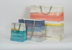 Marks & Bleed Fine Packaging - Anthropologie Spring 2015 Shopping Bags