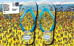 Where is Wally havaianas