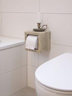 """Klopapierhalter - Toilettenpapierhalter, Klopapierhalter """"CUBE"""" - ein Designerstück von KlausHeilmann bei DaWanda"""