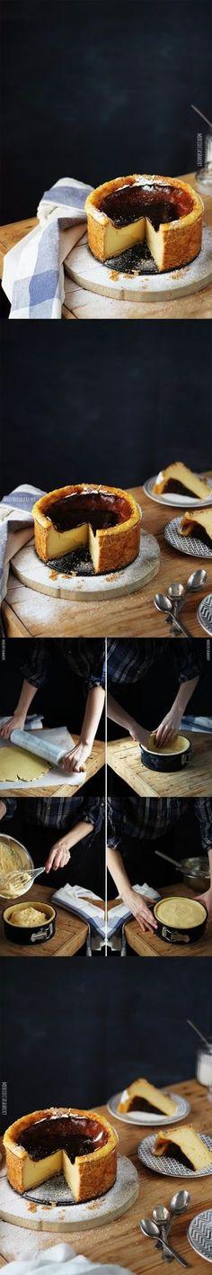 Exquisito flan parisino / http://merceditasbakery.blogspot.com.es/