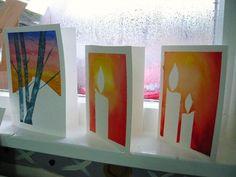 Handpainted Watercolour Christmas Cards | por ArtisOn Masham