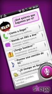 Nace Sherpa, el asistente de voz en español para Android que competirá con Siri