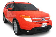 Ford Uses 380,000 Lego Bricks to Build Life-Size Explorer Model - WOT on Motor Trend