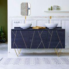36 Ideas for art deco kitchen accessories Cocina Art Deco, Casa Art Deco, Art Deco Kitchen, Art Deco Bathroom, Zebra Bathroom, Bathroom Interior Design, Interior Design Living Room, Interior Decorating, Deco Furniture