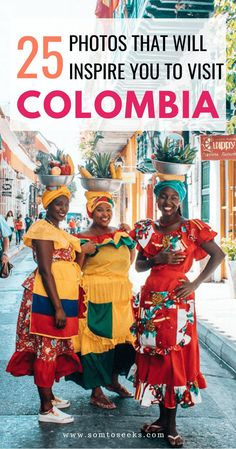 Colombia travel inspiration - Is Colombia on your travel bucket list? Colombia is one of the most beautiful countries in South America. I visited Cali and Cartagena and encountered warm people, delicious food, and colorful streets. There are many things d Cali Colombia, Visit Colombia, Colombia Travel, Colombia Country, Backpacking South America, Backpacking Europe, South America Travel, Traveling Europe, Europe Europe