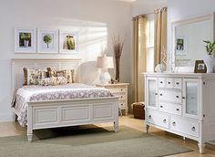 Shop stylish Bedroom Sets at Raymour & Flanigan. Find the perfect Bedroom Set at a great price and have it home in 2 days or less with our Premium Delivery. Buy Bedroom Furniture, White Furniture, Bedroom Decor, Furniture Ideas, Wooden Bedroom, Bedroom Interiors, Rustic Furniture, Luxury Furniture, King Bed Headboard