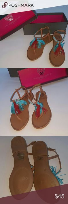 BNIB Size 8 Vince Camuto sandals Brand new never worn with box. Size 8. Leather upper/lining.admade outsole. Made in Turkey. Smoke and pet free home. Vince Camuto Shoes Sandals