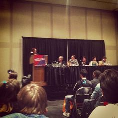 Found a few shots of the panel I was on at NYCC from a few weeks ago.