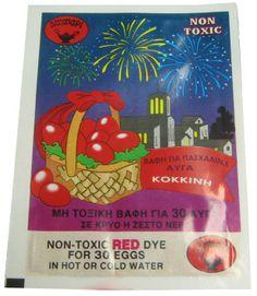 Parthenon Foods - Egg Dye, Red