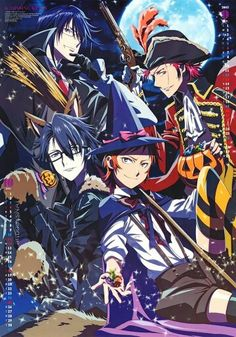 [PLEASE READ] Is anybody here interested in making a collaborative K Project board with me? Please comment below and let me know   Munakata Reisi, Mikoto Suoh, Fushimi Saruhiko and Yata Misaki. K- Project ♥♥♥