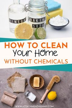 Green Cleaning: How to Clean Your Home Without Using Chemicals Safe Cleaning Products, Cleaning Hacks, Natural Cleaning Recipes, Natural Cleaners, Green Cleaning, Craft Activities For Kids, Healthy Living Tips, Sustainable Living, Natural Living