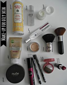 Make-Up for Oily Skin