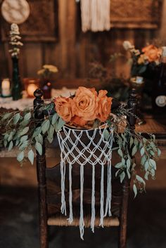 This boho styled shoot at Meadow Hill Farm features tons of macramé, vibrant jewel tones, and incredibly gorgeous bridal style.