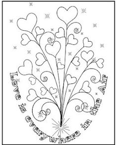 Love is Everywhere in the Air- Free Printable