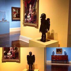 """Silvia Levenson's ""Strange Little Girl #7"" (2014); kilncast glass and mixed media; 41.25"" x 20"" x 16.75"" |  Installed at the Toledo Museum of Art; 2445…"""