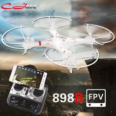 48.99$  Know more - http://ai92b.worlditems.win/all/product.php?id=32626887469 - HQ898B 2.4G 4CH 6-Axis RC Quadcopter Drone With Wifi FPV HD Camera Smartphone Gravity Induction Control HQ 898B kvadrokopter