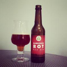 Hamburger Rot Red Ale #kehrwieder #kreativbrauerei #hamburg #kiel #craftbeer #beerporn #beerlove #instabeer #beerstagram #beer #bier #rot #redale #drinkcraftnotcrap #beernerd #cheers #prost