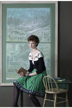 RARE Anthropologie Lithe Rustling Wind Skirt Embroidered s 6 | eBay