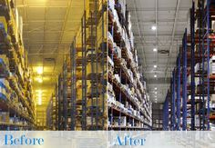Industrial LED light fixtures allow for unidirectional light allowing you to find the products you need without difficulty in those dim nick and crannies. Not only are these lights unidirectional but they emit a white light instead of a yellow light. This allows for clear and sharp light that will illuminate your warehouse instead of dim it. Read more at http://www.ledtoday.com/benefits-warehouse-led-lighting/